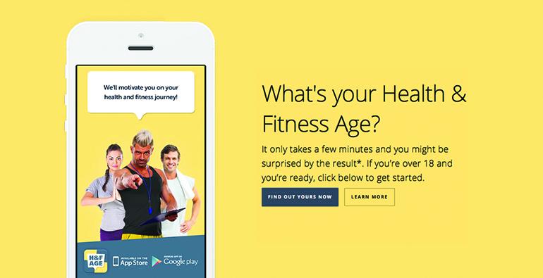 Health & Fitness Age