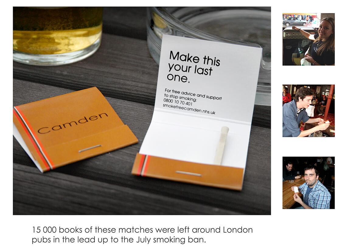 Matches final copy
